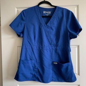 Grey's Anatomy 4153 Women's Mock Wrap Scrub Top